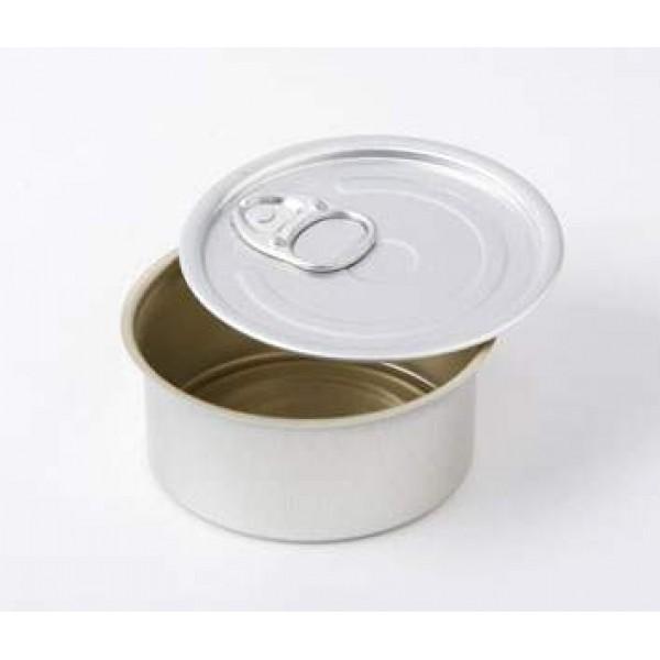 Boite de conserve ronde 10 cl à garnir et/ou à sceller, 100% Chef (x 100)