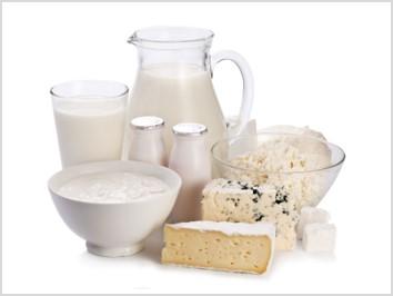 Produits laitiers lyophilisés