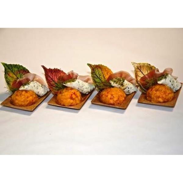 Feuilles d'automne à garnir, décors alimentaires (x 480)
