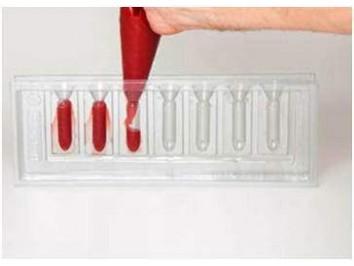 Moules tube rouge à lèvre