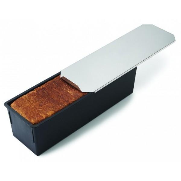 Moule à pain de mie avec couvercle  800 g, 270 x 100 mm, Exoglass