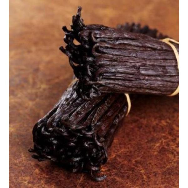 Gousses de vanille Tahiti Extra, variété Tahitensis (100 g)