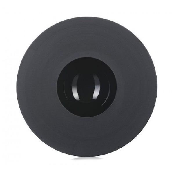 Assiette porcelaine Black Ink  Ø 21.5 cm, 11.8 cl (x 4)
